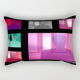 Sunset Silhouette  Rectangular Pillow