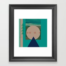 Rayleigh scattering Framed Art Print