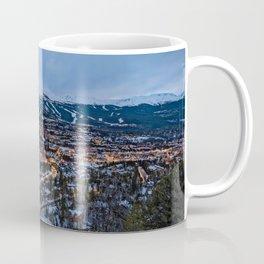 BRECKENRIDGE COLORADO WINTER NIGHT SKI TOWN CITY PHOTOGRAPHY Coffee Mug