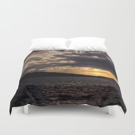 Dramatic change in the weather Duvet Cover