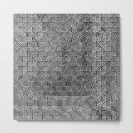 Ink Stitch: Slate Metal Print