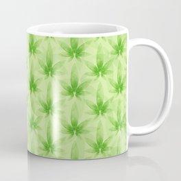 Marijuana leaf pattern Coffee Mug