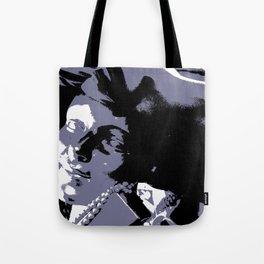 Fleur Chapeau Bleu Tote Bag