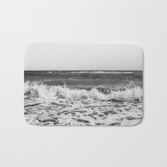 BEACH DAYS XXI BW Bath Mat