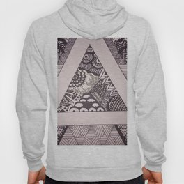 Triangle Sharpie Hoody