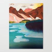 outdoor Canvas Prints featuring Outdoor by salauliamusu