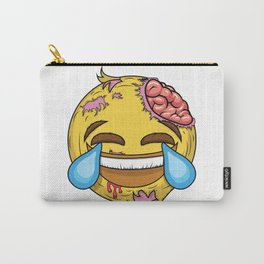 If the most famous emoji was a zombie Carry-All Pouch