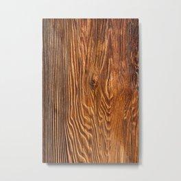 Wood texture III Metal Print