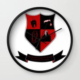 Lost Boys David Coat of Arms Wall Clock