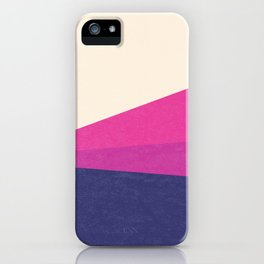 Stripe IV Violet Ray iPhone Case