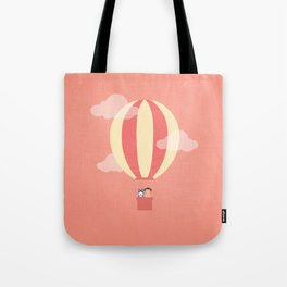 In A Hot Air Balloon Tote Bag