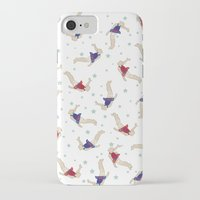 backpack iPhone & iPod Cases featuring Rocket Backpack by Ottilie Baker
