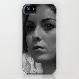 Spanish eyes iPhone Case