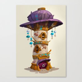 Tower House Canvas Print
