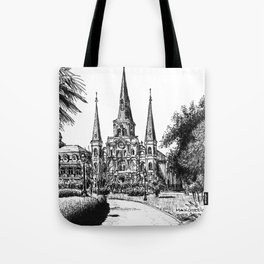 St. Louis Cathedral, New Orleans Tote Bag