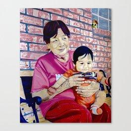 Cherished Moments Canvas Print