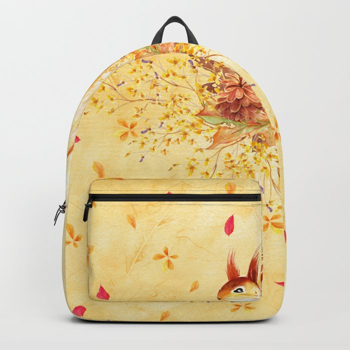 Autumn leaves #30 Backpack