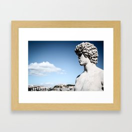 Look Over The City Framed Art Print