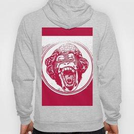 Crazy Monkey Laugh Hoody