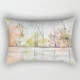 Morning Reflections Rectangular Pillow