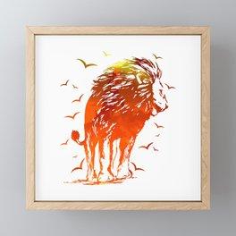 Beast of Hell Framed Mini Art Print