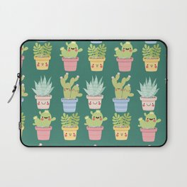Succulents and Cactus Party Laptop Sleeve