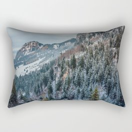 Forest - Bavarian alps Rectangular Pillow