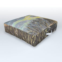 Sunset at the Park Outdoor Floor Cushion