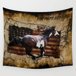 The Pony Express Wall Tapestry