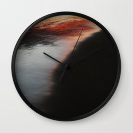 Sand Sunset Wall Clock