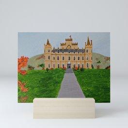 Scotland castle Mini Art Print