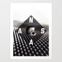 nasa Art Prints featuring NASA by Eric Bryant