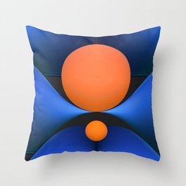 3D abstraction -23- Throw Pillow