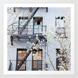 Brooklyn Spring Art Print