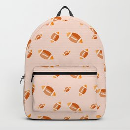 Rugby sport pattern Backpack