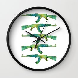 Paint Gun Wall Clock