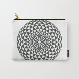 Geometric Eye into Triangles Carry-All Pouch