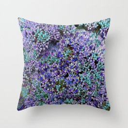 BUD (PURPLE) Throw Pillow