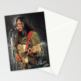 Neil Young Stationery Cards