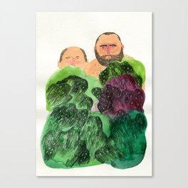 Shy Guys Canvas Print