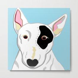 Bull Terrier Metal Print