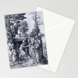 Lucas van Leyden The Raising of Lazarus Stationery Cards