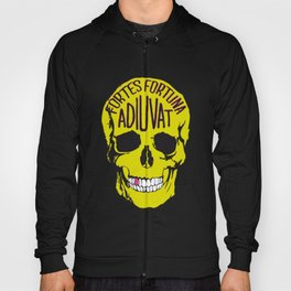 Fortune Favours The Brave. Hoody