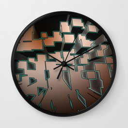 Neon Extrusion Wall Clock