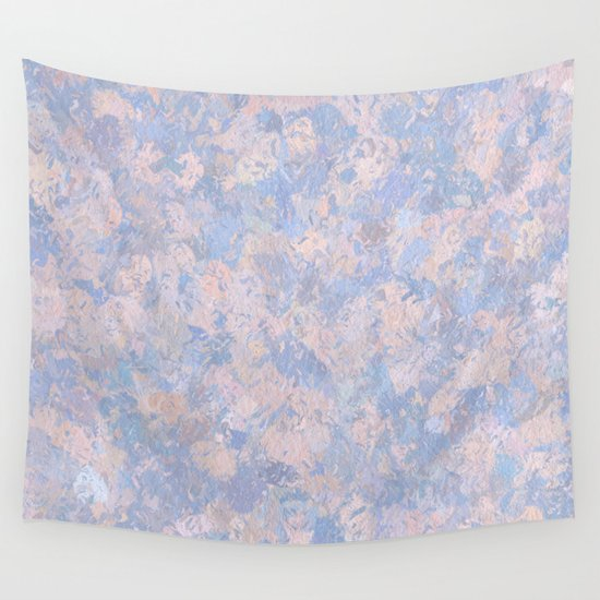 Rose Quartz and Serenity Blue 4644 Wall Tapestry