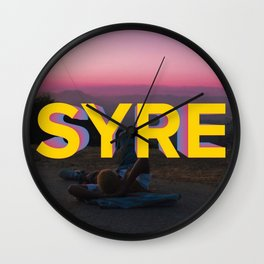 SYRE- Jaden Smith Wall Clock