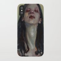 three of the possessed iPhone & iPod Cases featuring Possessed by aaronbmiller.com