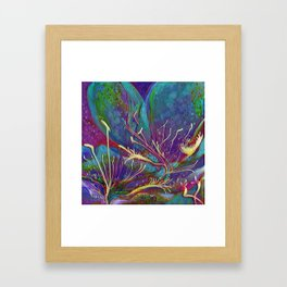 Grape Juice in January Framed Art Print