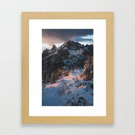 Awe Framed Art Print