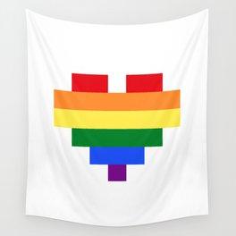 LGBT Heart Wall Tapestry